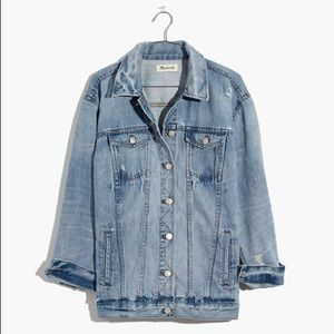 Madewell Oversized Denim Jacket